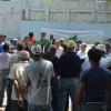 Fonper  reconstruye la cancha del barrio de Cristo Rey en Santiago