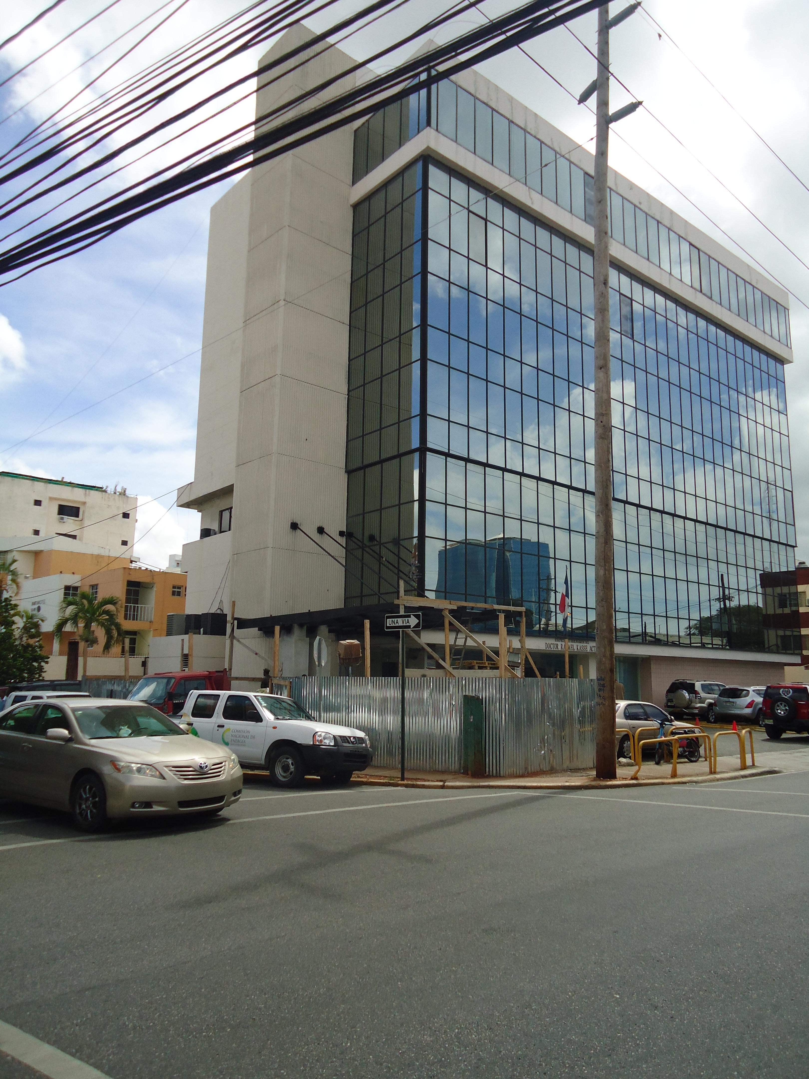 Readecuación Lobby  y Áreas Exteriores Edificio Gubernamental Dr. Rafael Kasse Acta.