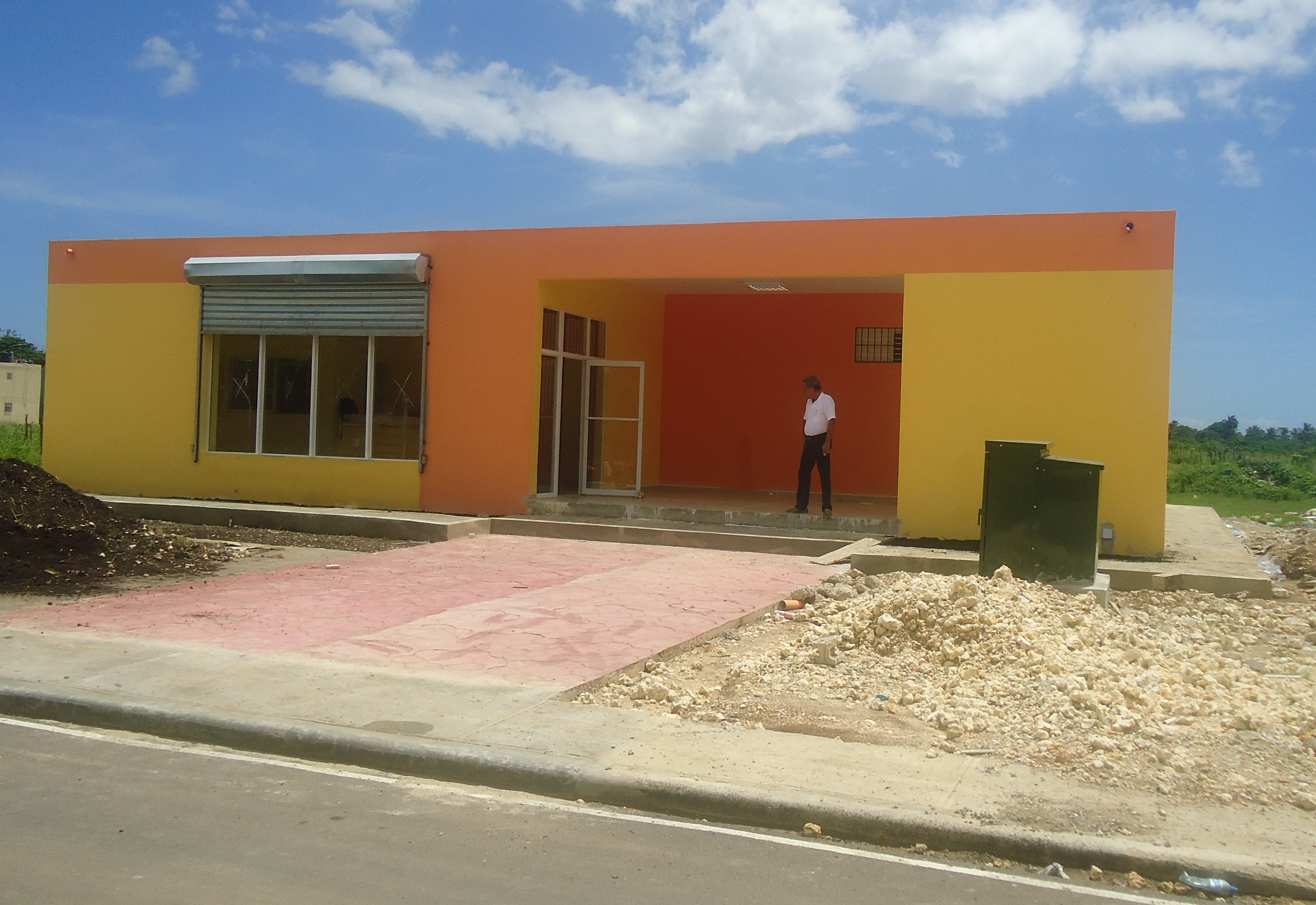 Construcción Panadería Doña  Lola.