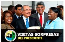 Visitas sorpresas presidente fonper